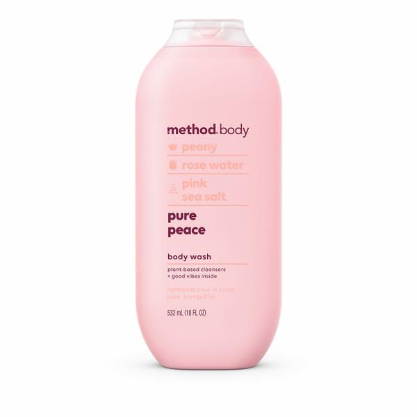 pure peace body wash, 18 fl oz-