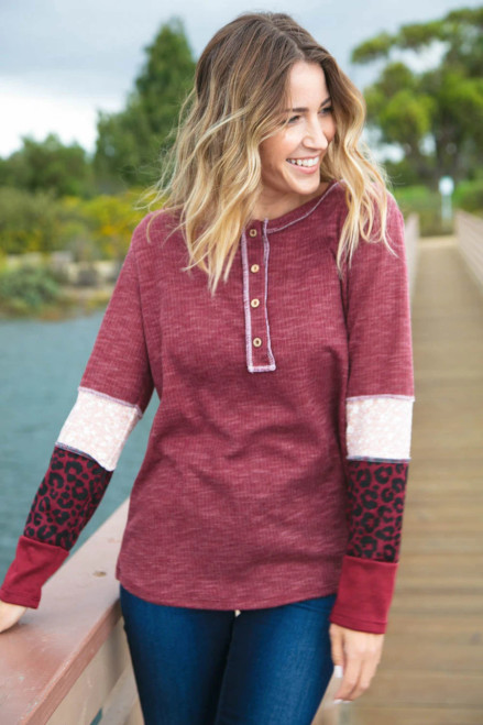 Let's Be Friends Long Sleeve Top