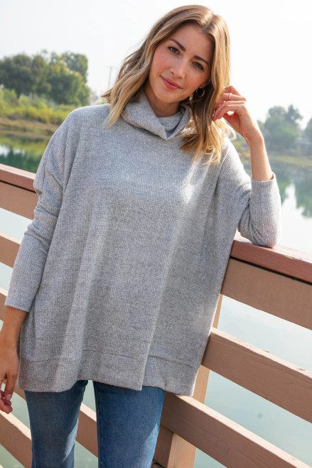 Seattle Lights Poncho Top