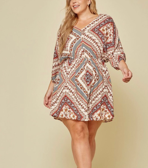 So Chic Patchwork Dress