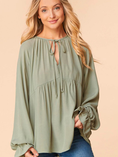 Layers of Love woven top