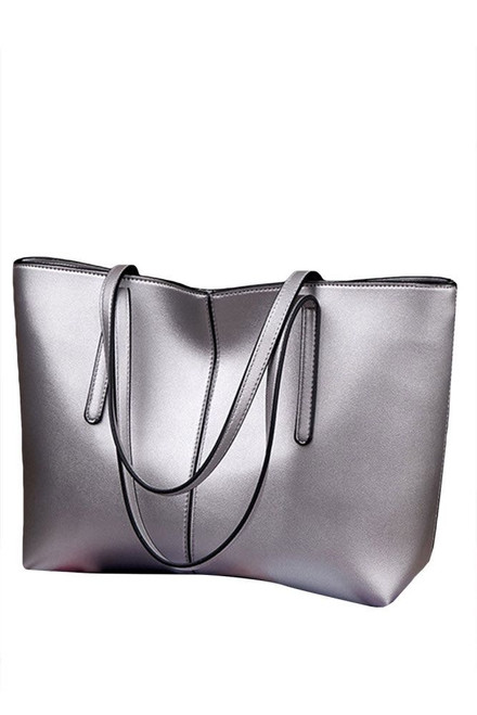Strictly Silver Tote
