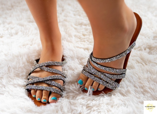 Sparkle Strappy Sandals