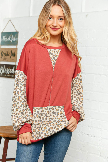 Be Bold French Terry Top