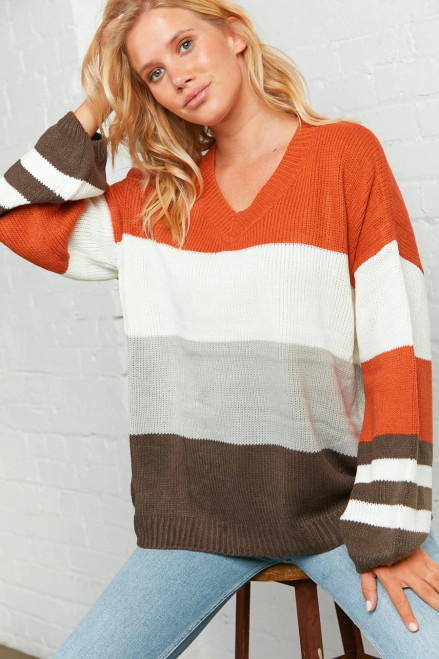 Colors of the Wind Slouchy Sweater