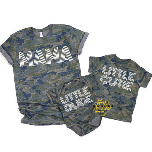 Mom and Me - Little Dude youth (Gildan Soft styles)