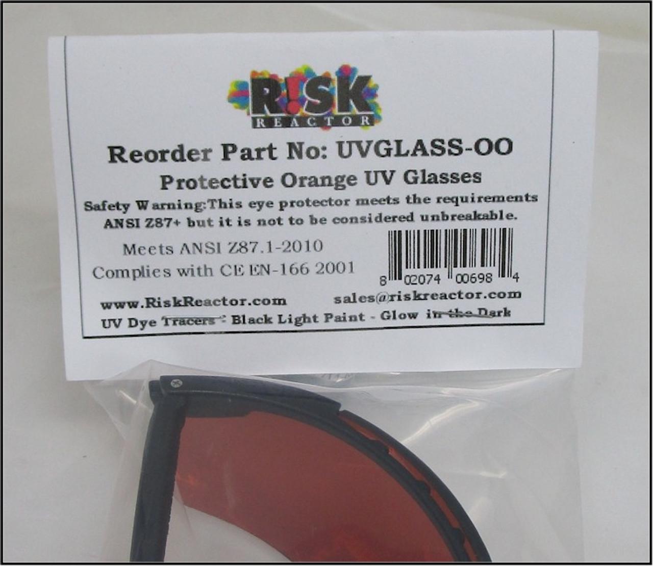 99449e1561f14 ... UPC Code ready for your store selling back light goggles. UVGLASS-OO UV  black light safety glasses for uva avb anti-fog ploycarbonate lense ...