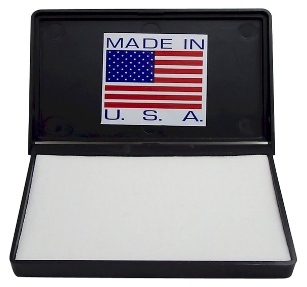 Superior quality dry PAD-1 stamp pad for black light UV ink or any ink