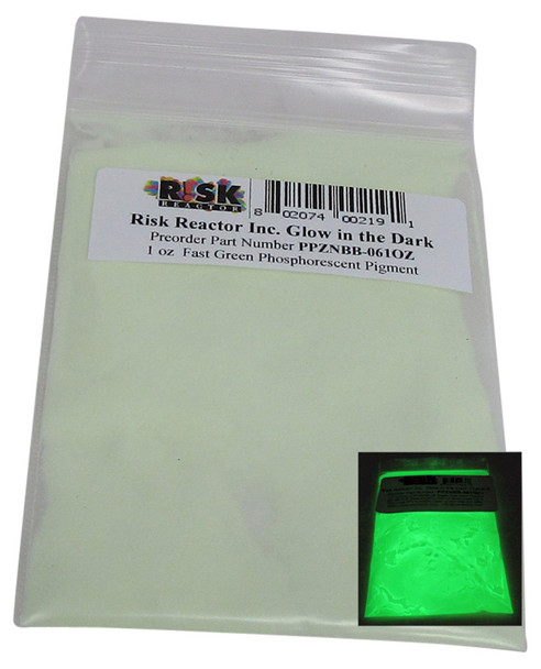 PPZNBB-061OZ one once fast Green quick charging phosphorescent pigment