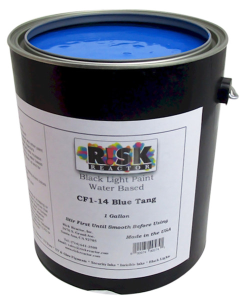 CF1-141GAL Gallon of Blue Tang Fluorescent Water Based Acrylic Paint