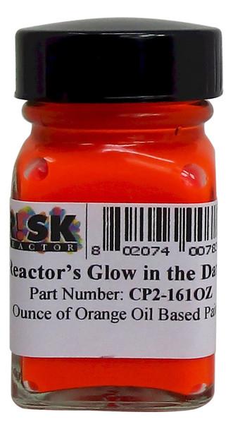 CP2-161OZ Ounce Orange Phosphorescent Oil Based Paint