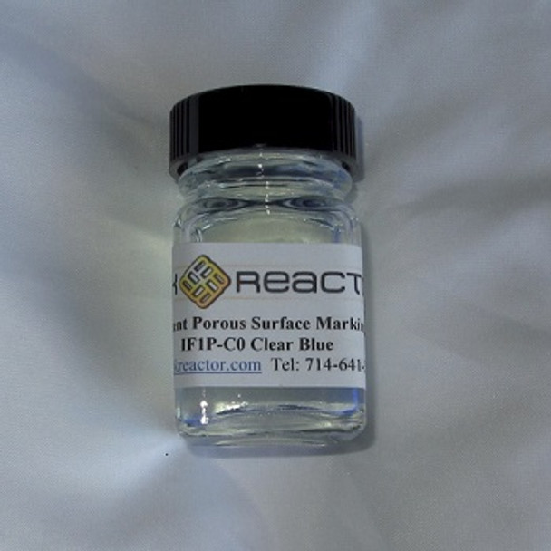 Clear blue black light UV inks IF1P-C01OZ by the ounce.