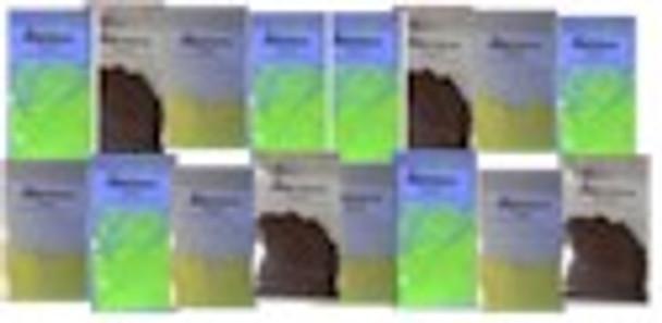 Complete kit for black light reactive UV powders.