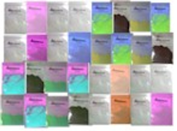 Complete fluorescent water and oil dyes for black light kit DFKIT-COMP.