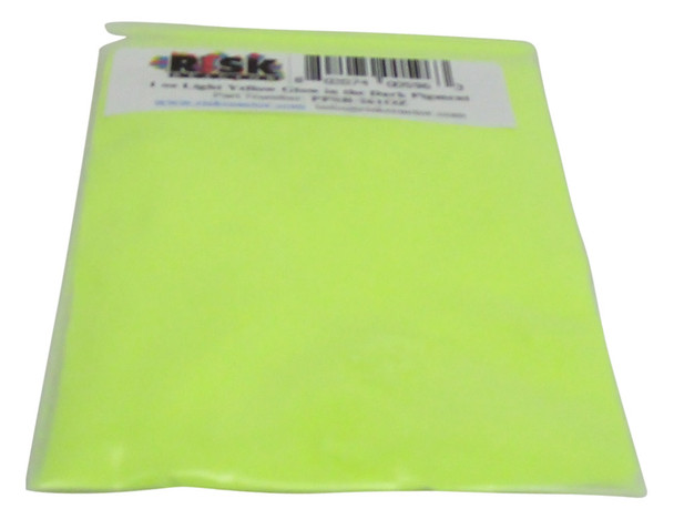 Kilogram of Light Yellow glowing powder for crafting and paints PPSB-261KG