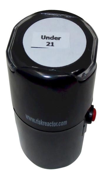Under 21 Round Self Inking Ultra Violet Stamper SU211RD