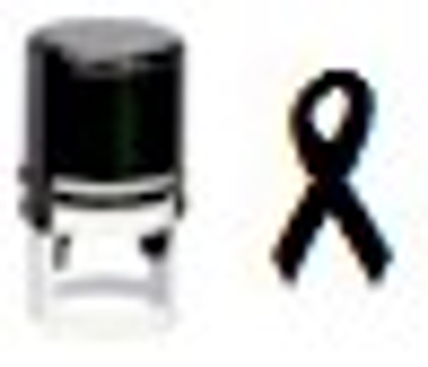 SMEMORY1RD Self inking memory fluorescent hand stamper