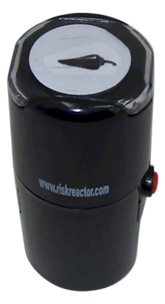 Image of a Chili Round Self Inking UV Event Stamper SCHILI1RD