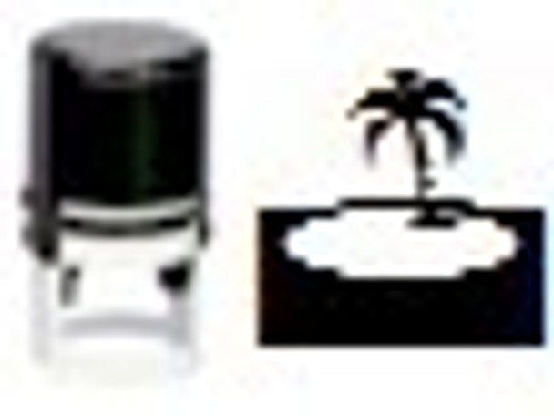SISLAND1RD black light island UV self inking stampers