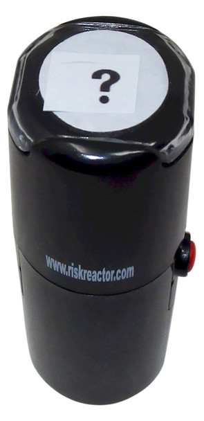 What Inch Round Self Inking Fluorescent Stamper SWHAT1RD