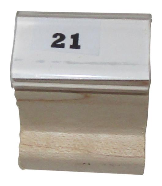 S21W Black Light 21 Walnut Handle Stamp