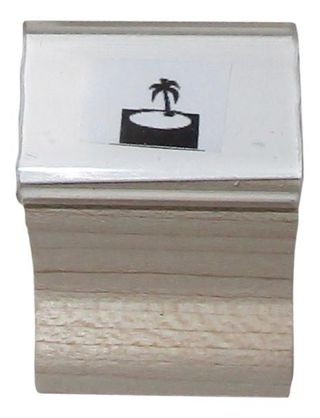 SISLANDW Island Walnut Handle Security UV Stamp