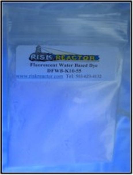 DFWBK10555G five grams OB clear blue UV fluorescent water dyes