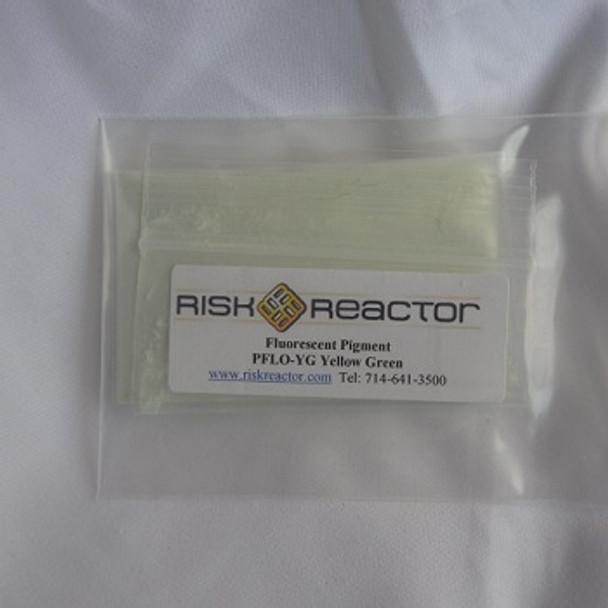 PFLOYG100G is 100 g Yellow Green Long wave UV Organic Additives