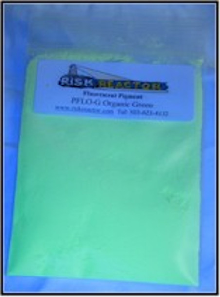PFLOG1KG is 1 kg Green Longwave Organic UV Pigments