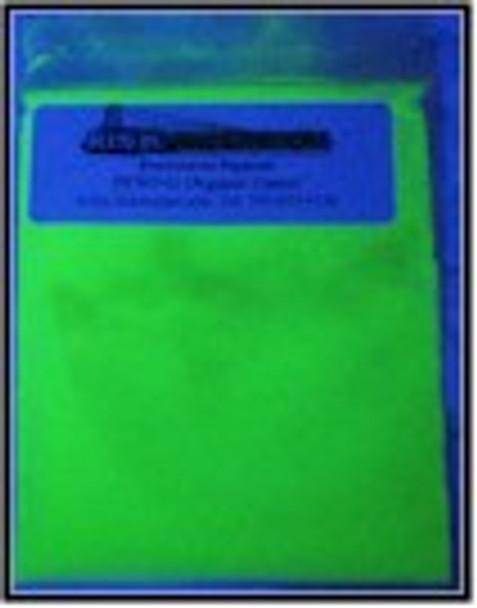 PFSOG100G 100 g Green Shortwave Organic UV security pigments