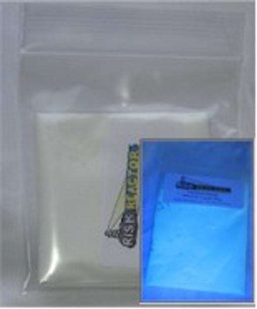PFSOB100G is 100 g Blue Shortwave Organic UV security ink additives