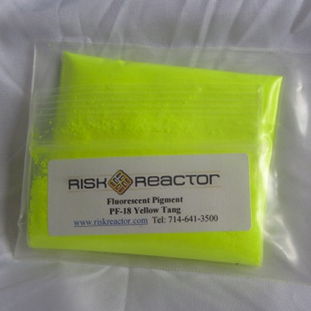 1LBPF18 pound of ultra violet Yellow Tang Fluorescent powders