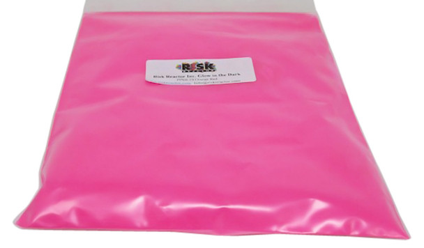 PPSB-191LB pound of orange-red phosphorescent colorants to make glowing crafts and paints