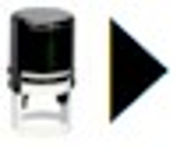 Right arrow self inking stamper SRIGHTARROW1RD for any ink that you want for your bar or fair