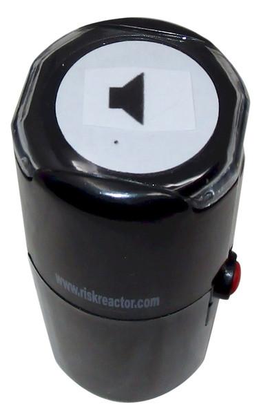 Right Speaker Round Self Inking Invisible Stamper SRIGHTSPEAKER1RD