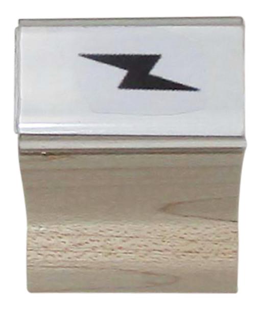 SBOLTW Lightning Bolt Walnut Handle Stamp Marking Device