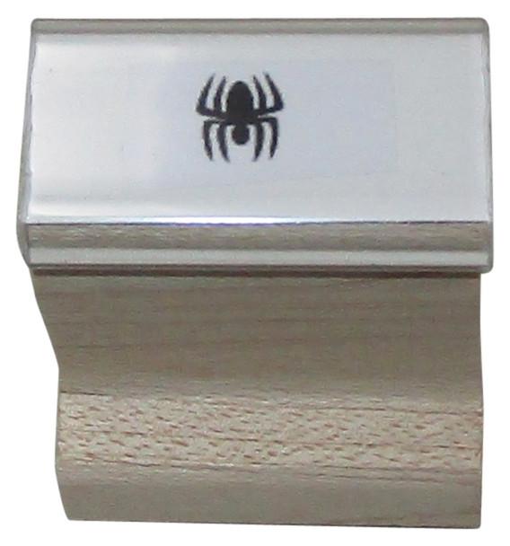 SSPIDERW Spider Walnut Handle Black Light Hand Stamps