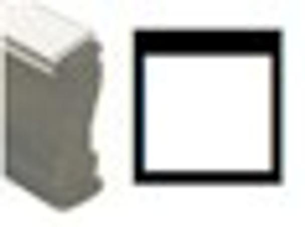 Open square image stamp SSQUAREW black light lamps