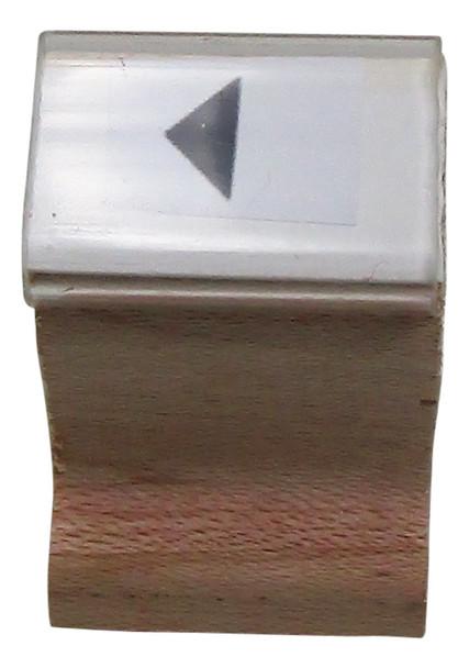 SLEFTARROWW Left Arrow Wood Handle Black-lite Stamps