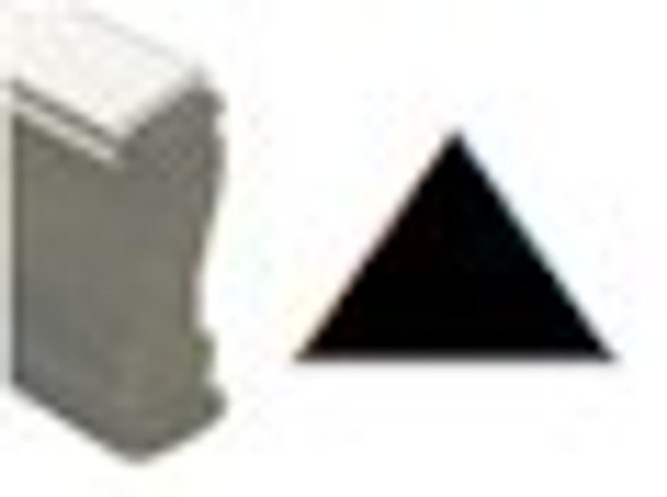 Arrow point up image on a wooden stamp SUPARROWW for black light or regular marking ink