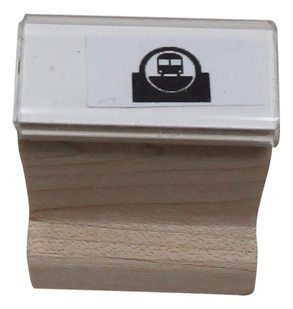 SSUBWAYW Subway Walnut Handle Black Light UV Stamps
