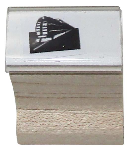 STRAINW Train Image on a Readmission UV Hand Stamp