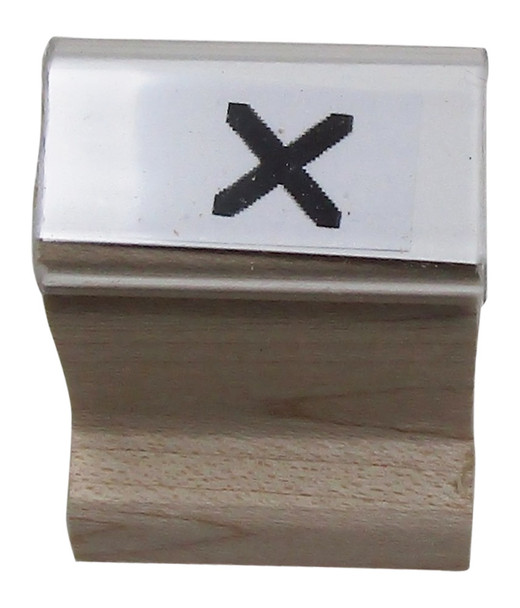 SXW UV Stamp with X Walnut Handle ultra violet Stamps