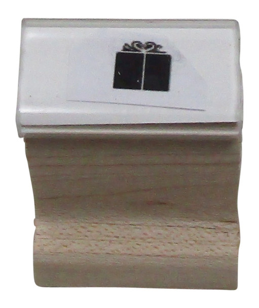 SGIFTW Gift Walnut Handle UV Hand Party Rubber Stamp