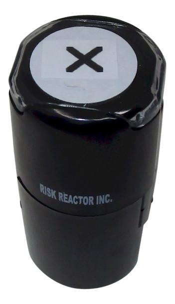 SX1RD X Round Self Inking UV Fluorescent Hand Stamper