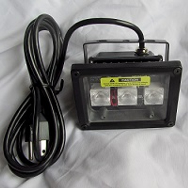 BI365 black light fixtures for UV curing and inspection light that plugs in.