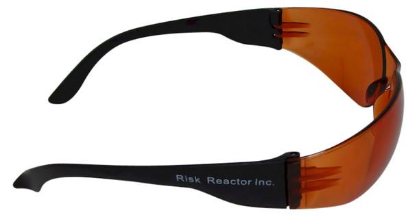 UVSPORT-OBOX3 Box of three UVA UVB and UVC Orange Protective Glasses
