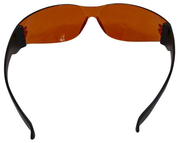 UVSPORT-OBOX24 Box of 24 Protective Orange UV Glasses