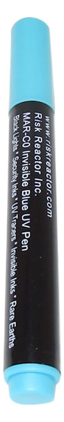 Black light invisible marker MAX-C0 that goes on clear