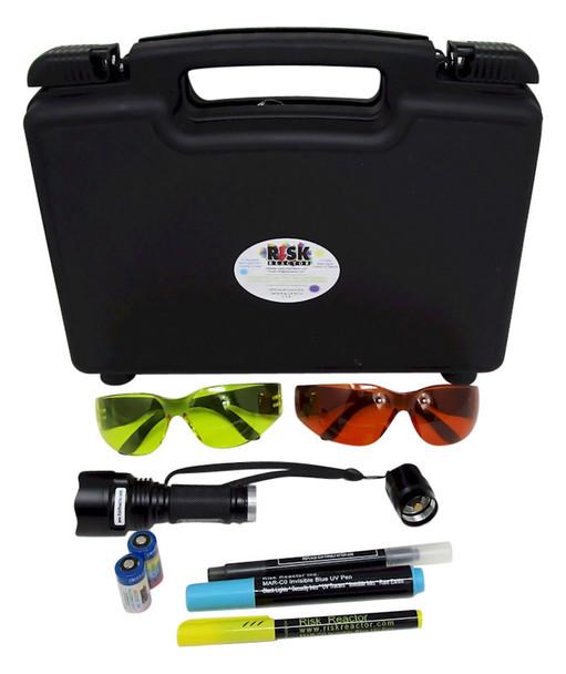 BMAG-365 Black Light UV NDT Inspection kit comes complete including batteries
